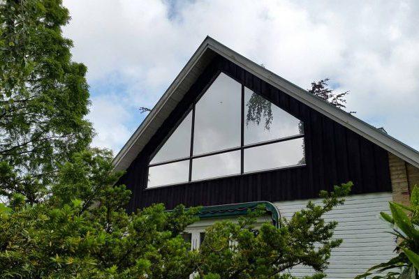 solfilm villafönster
