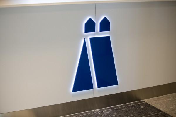 Ljus/LED/Profilskyltar blå